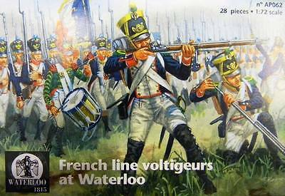 Waterloo 1815 - French line voltigeurs at Waterloo - 1:72