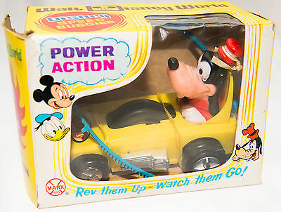Disney Goofy Power Action Speed Buggie Car by Marx