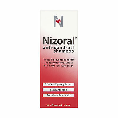 Nizoral Shampoo | Combat Severe Dandruff | For Dry Flaky Scalps 100ml - Multibuy