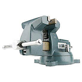 "Model 744 4"" Jaw Width 4-1/2"" Opening Capacity 3-7/16"" Throat Mechanics Vise W/"
