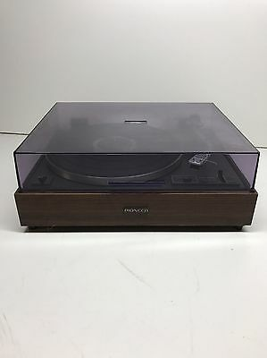 Vintage Pioneer PL-12D Stereo Turntable Record Player Shure Needle