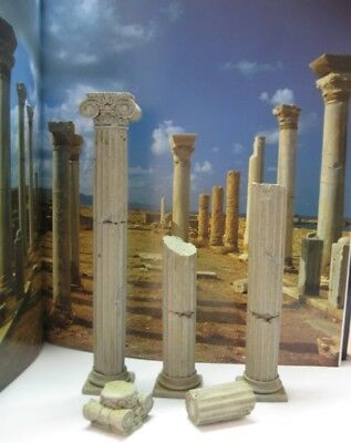 Reality In Scale 1:35 Column Set - Resin Diorama Accessory #35103