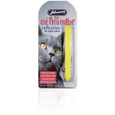 Johnsons Vet Reflective Cat Flea Collars Mixed Colours -