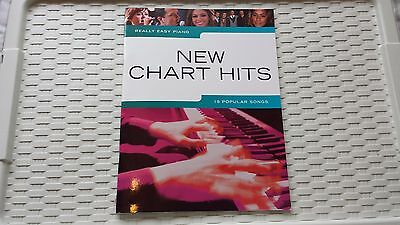 Really Easy Piano New Chart Hits Sheet Music Book Adele Take That Beyonce
