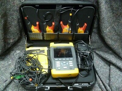 Fluke 434 Three Phase Power Quality Analyzer Meter