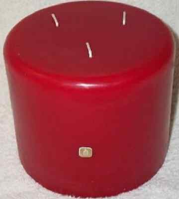 Partylite CINNAMON & BAYBERRY 3-wick candle  5 X 6  VERY RARE