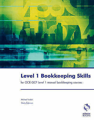 Level 1 Bookkeeping Skills (Accounting & Finance)-ExLibrary