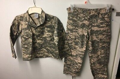 Army Outfit Camo Outfit Youth Size 6