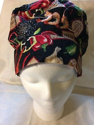 Culinary Classics Cajun Creole Chef Hat with bonus neckerchief Velcro Closure