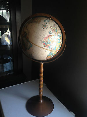 "Replogle 12""  World Series Floor Globe 31"" Tall"