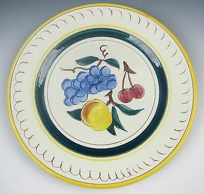 Stangl Pottery FRUIT 3697-YELLOW Dinner Plate(s) VERY GOOD