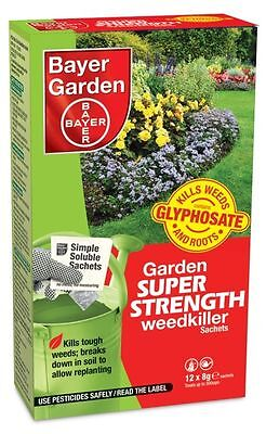 Bayer Super Strength Weedkiller Concentrate 12 Sachet - 80887558
