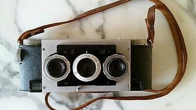 3D Stereo Realist Camera f3.5 lenses excellent working condition!