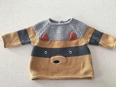 Baby Boys Knitted Jumper Size 000 New