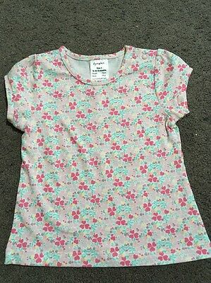 BNWOT Baby Girls Short Sleeved Top Size 0