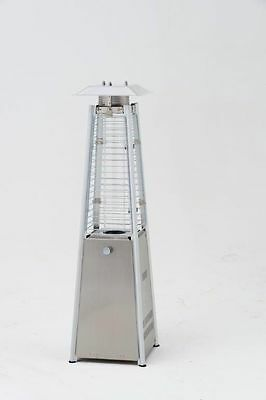 Lifestyle Chantico Table Top Flame Patio Heater 3KW Stainless Steel - LFS827