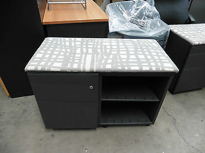 Office (Clearance) Steel Filing Cabinet Fabric Top Brisbane