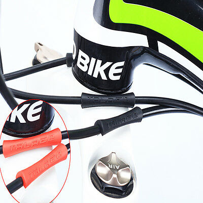 4pcs/lot Bicycle Cable Rubber Protector Sleeve For Shift Brake Line Pipe Care