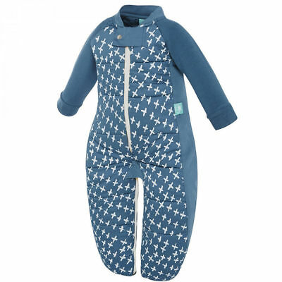 Navy ErgoPouch Baby Sleep Suit Bag 2-12m Winter 2.5 TOG Toddler Sleeping Wrap