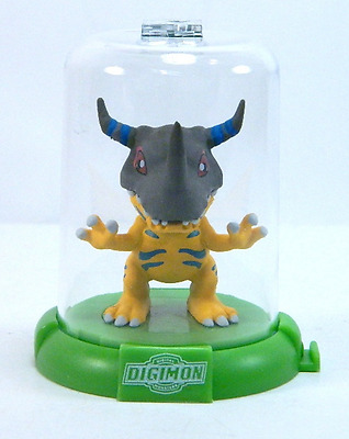 "1x DIGIMON DOMEZ GREYMON 2"" COLLECTIBLE MINI FIGURE CHASE ULTRA RARE NEW LIMITED"