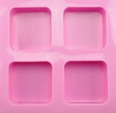 Silicone Soap / Candle Molds / Mould / Mode including 4 Bars