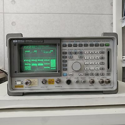 Used HP 8920B(Max Power 60W,Spectrum w. tracking) - RF Communications Test Set