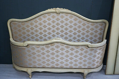 Vintage Upholstered French Bed (BR179)