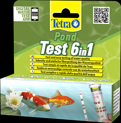 Tetra Pond Quick Test 6 in 1 25 Tests - 192713