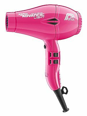 Parlux Advance Light Ceramic and Ionic Dryer - Pink
