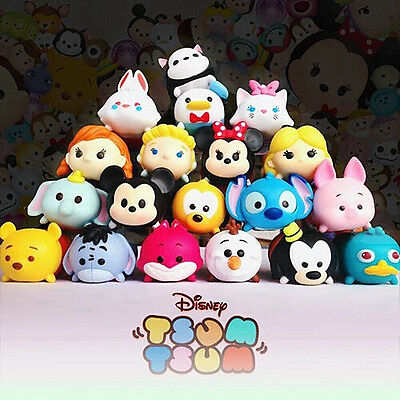 HOT! Disney Tsum Tsum - Series 1 rubber -  Random 3/5/10/15/20pcs