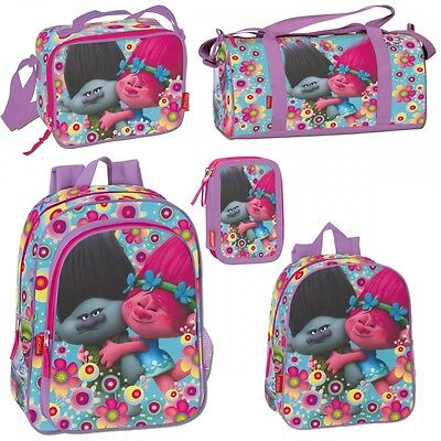 Trolls Poppy Rucksack Backpack Travel Gym School Holiday Cooler Lunch Bag COOPER