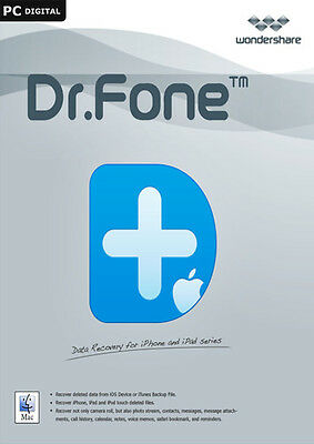 Wondershare Dr. Fone iOS - data recovery for iPhone and iPad - for Windows
