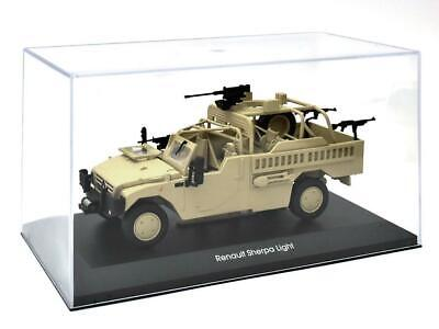 Renault Sherpa Light 401 Maßstab 1:43 Fertigmodell aus Metall in Displayvitrine