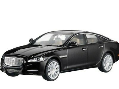 Jaguar New Genuine XJ 1:43 Scale Die-Cast Model in Black Amethyst 50JDCAXJ