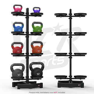 We R Sports Kettlebell Holder Rack Stand Hods 8 Kettlebells Home Gym Weight Rack