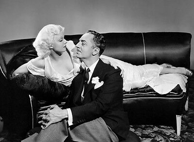 Jean Harlow and William Powell UNSIGNED photo - H6857 - Reckless