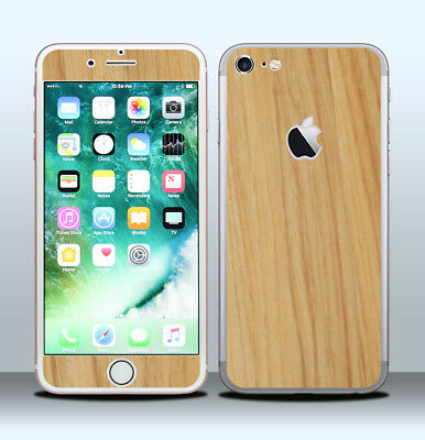 Pellicola Skin Wrap Adesivo Apple iPhone 7 Legno / Wood