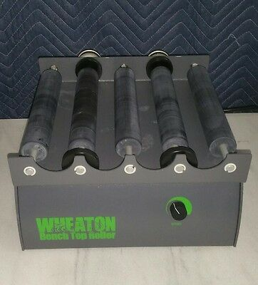 Wheaton Bench Top Roller, Mini 120V in Good Working Condition