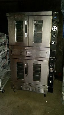 Hobart Gas Double Stack Oven