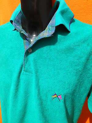 CHRISTIAN CANE Polo Freestyle Made in France True Vintage Luxe Yatch Old School