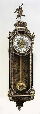 Antique French Cartel Boulle Table Clock From 1754 - Free Worlwide Shipping