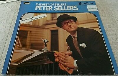 Peter Sellers-Best of Sellers Comedy vinyl LP. GD Cond. Vintage classic