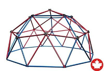 Geometric Dome Climber Play Center Kids Childs Toy Red Blue Rock Climbing Grips