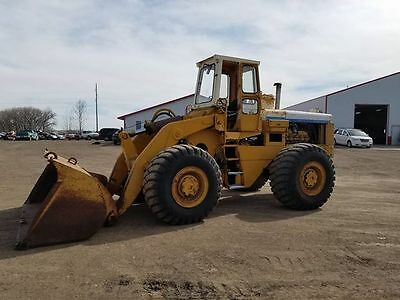 International H90E Wheel loader/payloader. V8 Turbo, 4.5 yard bucket. weight 40k