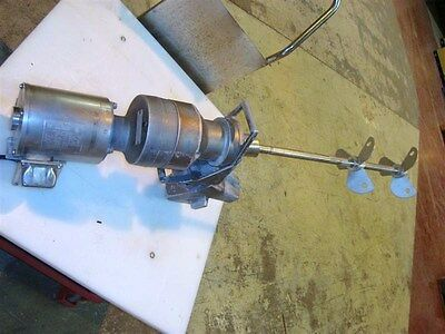 Brawn Clamp on Mixer Model BGM50-SI Stainless Steel