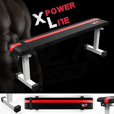 Flat Weight Bench Weight Lifting Utility Chest Press Dumbbell Home Gym Workout