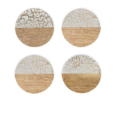 NEW Ecology Fraser Coasters Set of 4 Cloud