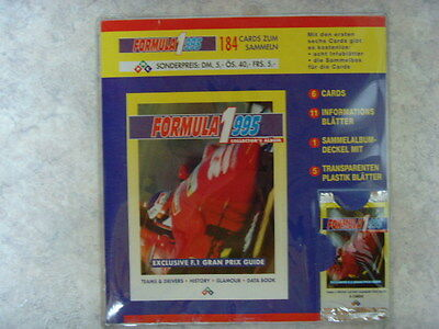 Formula 1995  Collector ALBUM !!!  Selten RAR  PMC