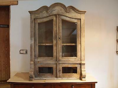 Cabinet cupboard French display dresser c1850