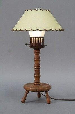 1930s monterey period table lamp turned wood light antique rancho 1930s monterey period table lamp turned wood light antique rancho 10198 aloadofball Images
